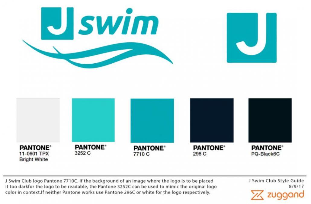 J Swim Club Color Palette