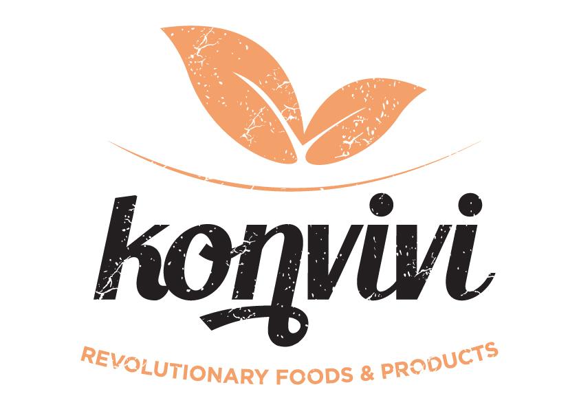 Konvivi logo white
